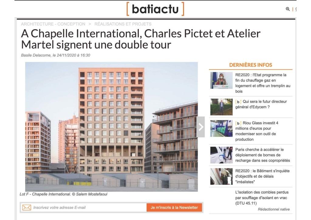 Bati actu - A chapelle International, Charles Pictet et Atelier Martel signent une double tour_Page_01