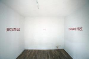 Installation. Adhésifs et Sons. Du 11 juin au 11 septembre 2009
